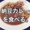 食わず嫌いはダメ!納豆カレーを食べる【CoCo壱】