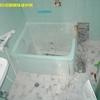 ポリ浴槽入れ替え工事1/2(途中で発見した重大な施工不良事例)