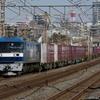 1月23日東海道線 平塚~大磯間 貨物列車2本撮影 5075ㇾ 2079ㇾ