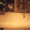 グリニッチ・ビレッジ。窓の外は雪。ニューヨーク「Washington Square Hotel」