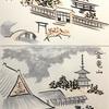 富ヶ岡と金竜山