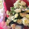 バレンタインにお花を…。そしてロールオンアロマのワークショップ。