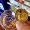 通天閣でも記念メダルを購入です(^o^)《記念メダルを集めるシリーズ #3》