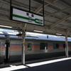 信州東北ローカル線乗り鉄の旅 7日目③ 青森駅でカシオペアを撮影