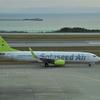 Solaseed Air B737