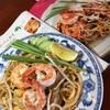【タイ料理】エビのパッタイとは何❓初めてのタイごはん