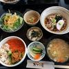【食事】 かに本舗 がんこ屋@茨城町 ミニ海鮮丼セット