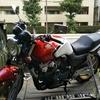 #バイク屋の日常 #ホンダ #CB400SF #配送 #洗車 #雨降るな