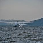 「ロトルア湖(Lake Rotorua)」~夕刻の心地よい風に吹かれて!!