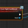 UnrealEngineでVRコンテンツ向けにLeapMotionを使ってみた3