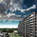 青葉城址正面のマンション、ザ・レーベン仙台大手町建設状況(2020年10月)