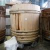 岐阜市長良葵町にある『山川醸造』創業初の新桶。