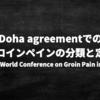 2014年Doha agreementで定義されたグロインペイン症候群の分類