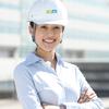 建設業・建築土木業に安全と安心を届けるヘルメットのカタログ写真   カメラマン写真撮影ノート