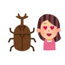 コオロギと彼女