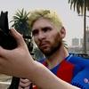 GTA5にFCバルセロナのリオネル・メッシ&R6Sのイェーガー登場!!(GTA5:PC版 プレイヤースキンMOD)