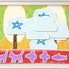 プログラミン 生徒さんの作品「雲の奥に」