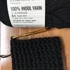 ダイソーの毛糸で、ハンドウォーマを編む☆