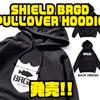 【バスブリゲード】お馴染みのロゴが入った「SHIELD BRGD PULLOVER HOODIE」発売!