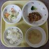 今日の給食!
