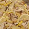 鶏の塩レモン炒め