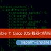 Ansible の napalm-ansible  モジュール群でCisco IOS 機器の様々な情報を取得する