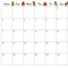 2021年uwabamiオリジナルカレンダーだよ!