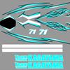 Team KAGAYAMA GSX-R用レプリカステッカー