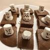 可愛いマシュマロプチケーキ( ‾•ω•‾ )/