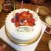 3日 遅い誕生日祝い ☆ 吉川ちゃんのケーキと対決!