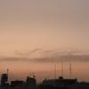 早朝霧のスカイツリー