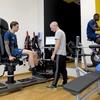 ユベントスの選手がJメディカルで身体テストを行い、後半戦に備える