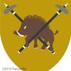 イノシシの紋章。なぜなら・・・