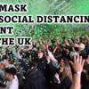 【NEWS】英国で NO MASK イベント開催。その結果、15人の感染が確認される。