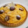 栗とかぼちゃのモンブランタルトのレシピ