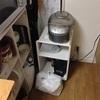 キッチンに少しスペースができた