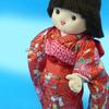 初節句のお祝いに「振袖人形」