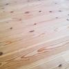 入居後10ヶ月。無垢の床の現在。