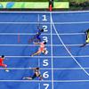 陸上男子400リレー、日本が「銀」 2大会ぶりメダル