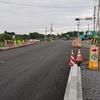 道路改良工事の進捗状況