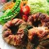 花椒塩風味の肉巻きオニオン