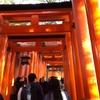 紅葉を観に京都に行きましたが全然紅葉してませんでした