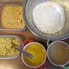バレンタイン♪パパと一緒に1歳児もパクパク♪砂糖・卵不使用クッキーレシピ