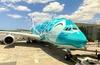 【搭乗記】ANAフライングホヌ2号機 総二階建て旅客機エアバスA380 ファーストクラス 成田-ホノルル NH184/NH181