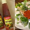 買ったら使わなきゃもったいない!「Indofood サンバルバンコク」は業務スーパーの生春巻きのソースに最適☆