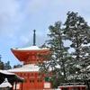 【和歌山】雪の高野山へ初詣。壇上伽藍はまるで別世界でした(御朱印)