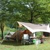 子連れ秋キャンプを楽しむ!はじめて母娘ふたりだけでキャンプ!@西俣キャンプ場
