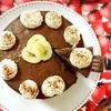 お砂糖なしのバナナココアレアチーズケーキ