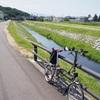 久しぶりに晴れたので、ブロンプトンで白河サイクリング♪