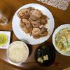 豚肉の生姜焼きを夕食に決定 昨日の疲れは残ったまま